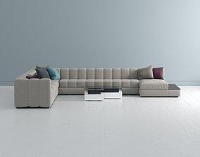 3D model Sofa Corner Unit