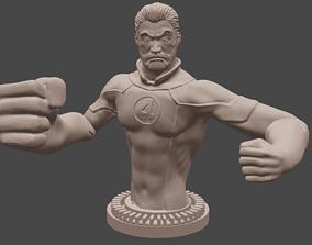 Mr Fantastic Bust - Fantastic Four 3D print model