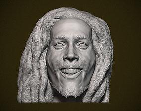 Bob Marley bust 3D print model