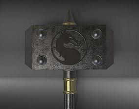 Shao Kahn Hammer MORTAL KOMBAT 3D print model