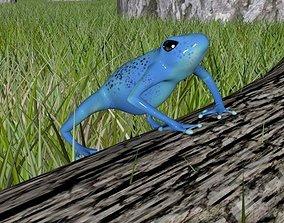 3D model Forrest Frog