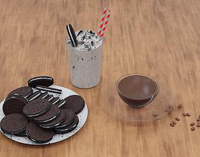 3D model Dessert set