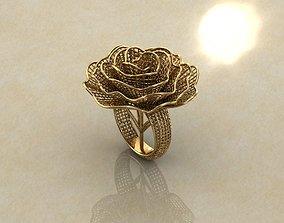 Electro-Fusion Fashion Ring design 3D printable model
