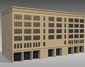 3D model Commercial Building 008