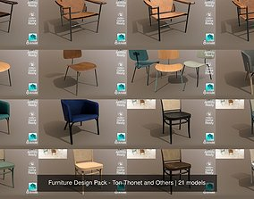 Furniture Design Pack - Ton Thonet and Others 3D model