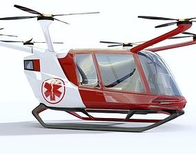 Medical Ambulance Drone 3D model