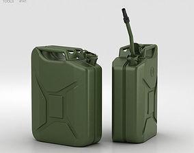 3D model 20L Jerry Can