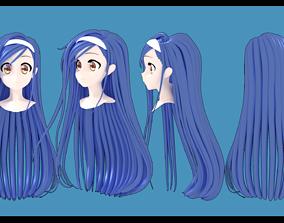 Furuhashi Fumino hair style 3D