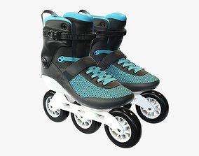 3D Roller skates inline