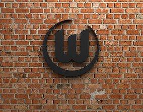 play 3D model VfL Wolfsburg Logo