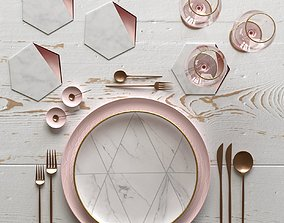 3D fork Table Setting 10