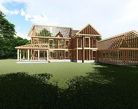 Framed House Model