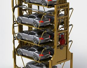 3D model Rotary Parking System SM8L