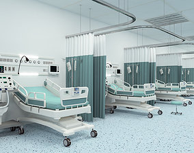 3D Medical Patient Room