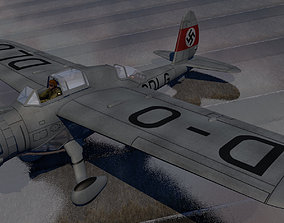 Arado Ar-198 ww2 3D model