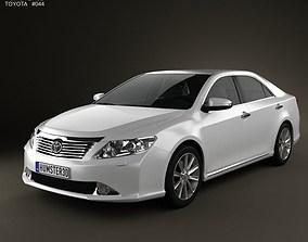 3D Toyota Camry EU Aurion 2012