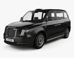 3D model LEVC TX Taxi 2017