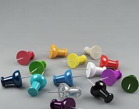 3D model Thumbtacks 01