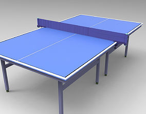 3D model Table tennis table