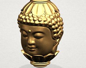 3D print model BUDDHA - HEAD SCULPTURE