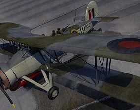 3D model Fairey Swordfish Mk-1