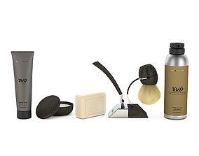 3D model Shaving set