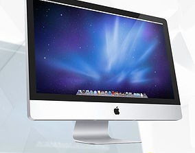 iMac 3D Model Apple VR / AR ready