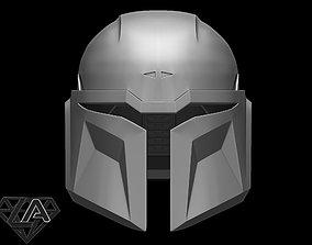 Custom mandalorian helmet 3D printable model