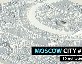 3D model Moscow City