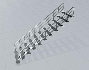 Steel Stair 3D