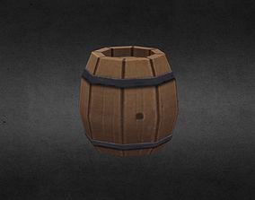 Barrel 3D model realtime