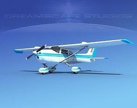 Cessna 172 Skyhawk STOL V08 3D model