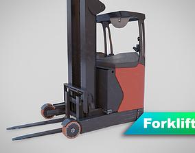 3D model Forklift - Linde R 16