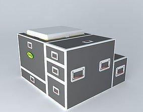 flightcase kitchen for Jeep 3D model