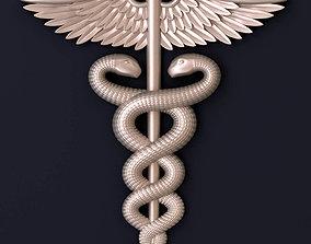health 3D print model Medical symbol