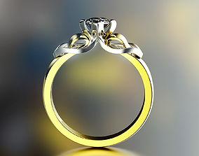 Fashion Ring rings 3D printable model