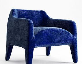 3D Kelly armchair KL70
