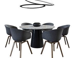 tavolini Dinning Set 3D