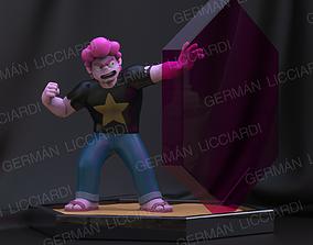 3D printable model Steven Universe Future -attack pose