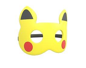 3D model realtime Pokemon Kids Mask v1 001
