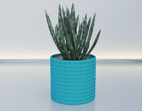 3D print model Flower pot planter 11