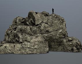 rocks forest 3D model VR / AR ready