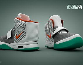 Nike basketball sneakers 3D model