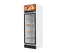 Commercial Fridges 3D