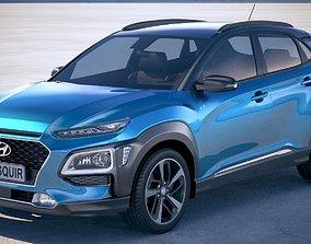 korean Hyundai Kona 2018 3D