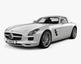 Mercedes-Benz SLS-class with HQ interior 2011 3D