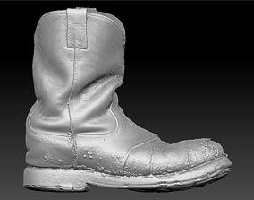 3D model Ariat Construction Boot