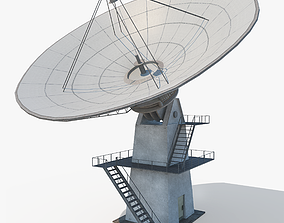 3D model Satellite Dish - Antenna
