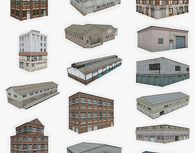3D model 15 Industrial Building Collection 2