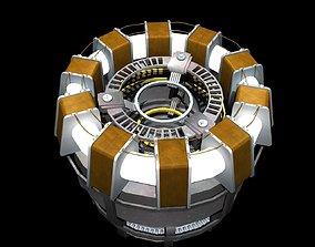 Iron Man Arc Reactor 3D model reactor